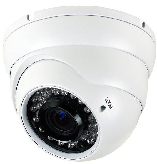 CE,FCC certificate, IR Vandalproof dome camera, CCTV dome camera SV-FBI08