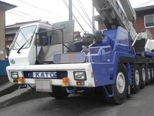 Used CRANE Truck, Rough Terrain, All Terrain TADANO KATO KOBELCO ...
