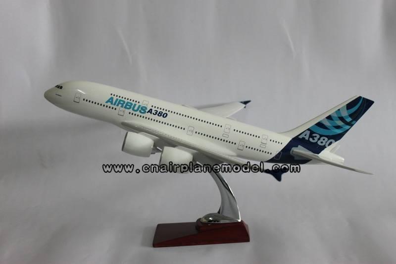resin airplane model Airbus380 36cm