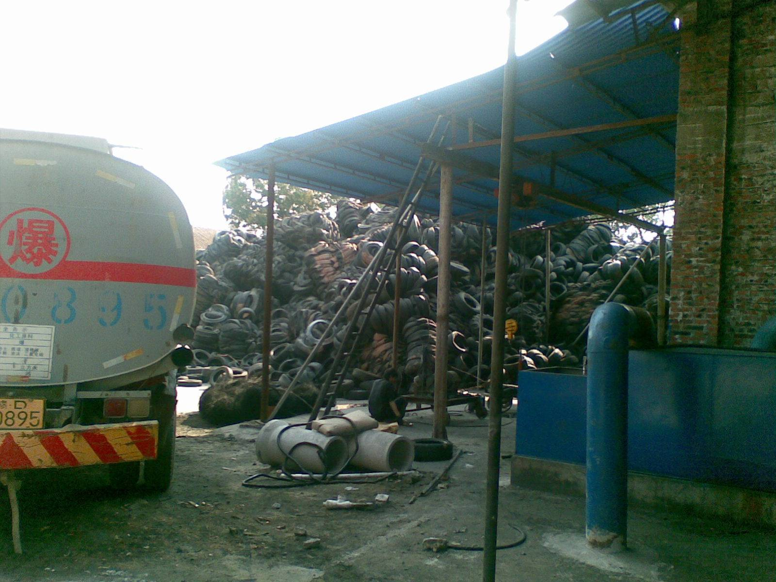 oil extraction plant using waste tyre
