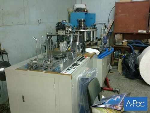Revised Paper cup making machine and paper cutting machine