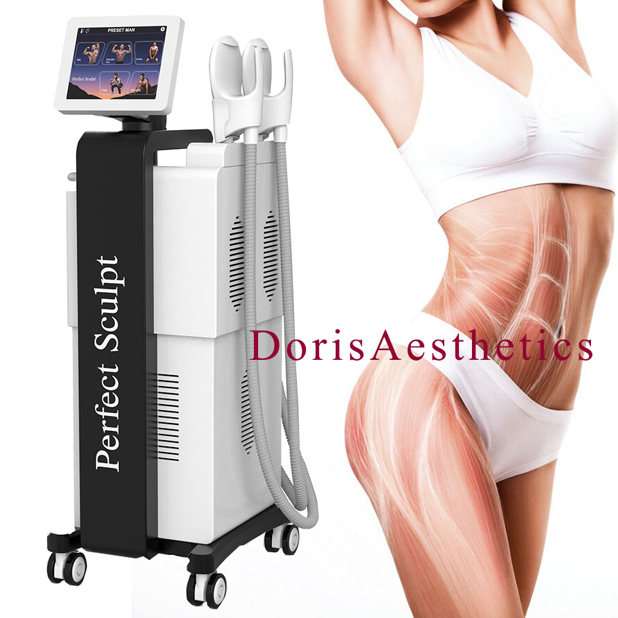Perfect Sculpt Hiemt EMS Sculpting Build Muscle and Burn Fat Electromagnetic Body Shaping Machine
