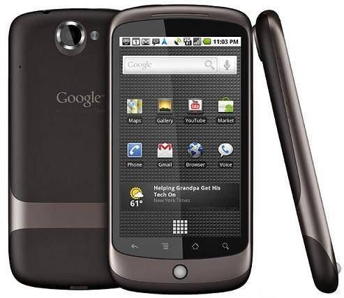 3G smart Android mobile phone Google Nexus One 3.7inch AMOLED touchscreen 5MP camera 1GHz CPU