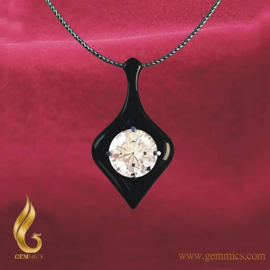 Ceramic Necklace Pendant
