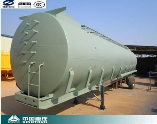 Sell Tri-Axle Oil Tanker