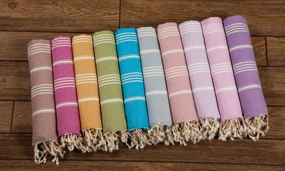 Turkse hamamdoeken, Hammam handdoeken, Hammam strandlaken, Hammam badlaken
