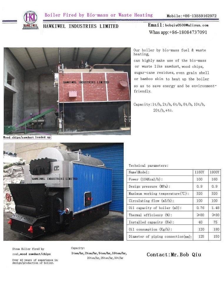 bio-mass boiler,stove & thermal heater