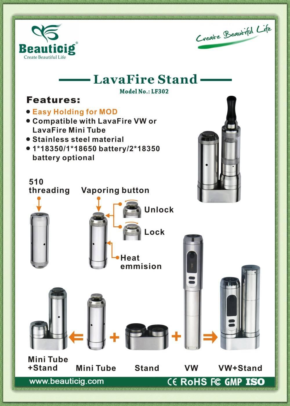 Lavafire stand