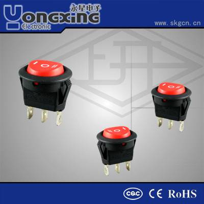 4A/6A/10A 250V AC Electric switch/ 12v dc rocker switch