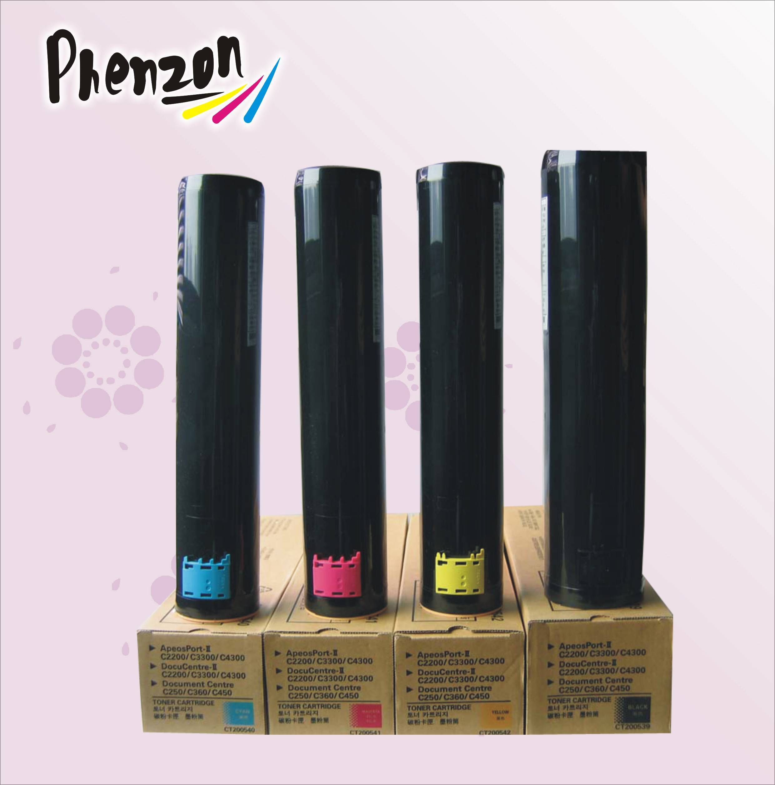 Compatible color toner cartridge DCC450 for Xerox