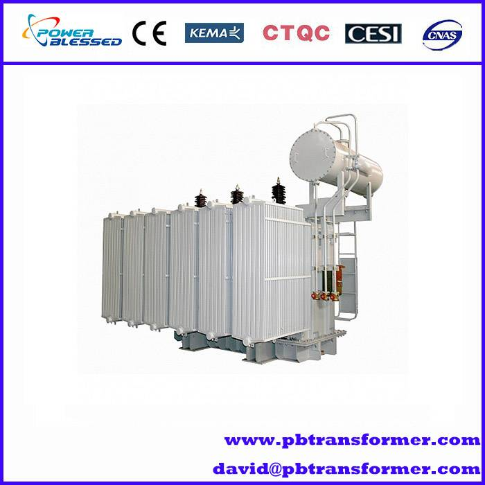power usage transformer 33kv 50kva oil immersed electric power transformer