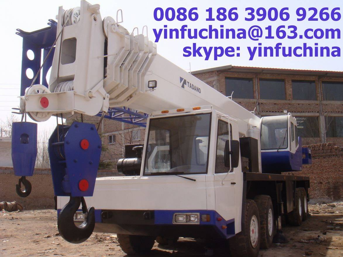 used crane in good condition