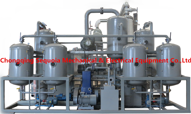 waste engine oil filter machine
