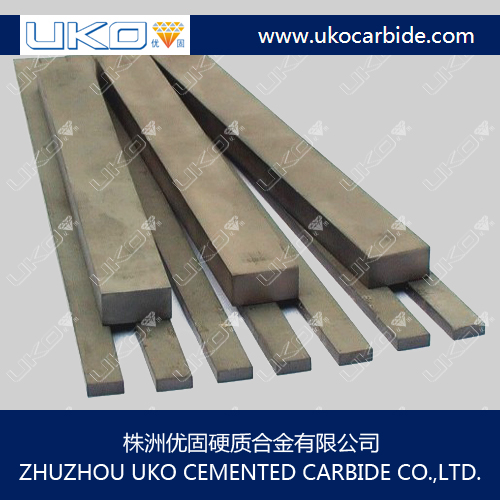 Tungsten Carbide Unground square and rectangular bars length 335mm
