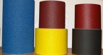 abrasive paper roll