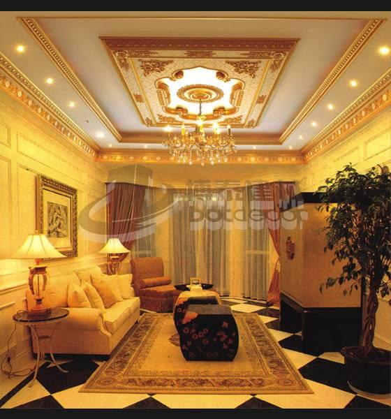 PVC Artistic Ceilings for Construction Decoration