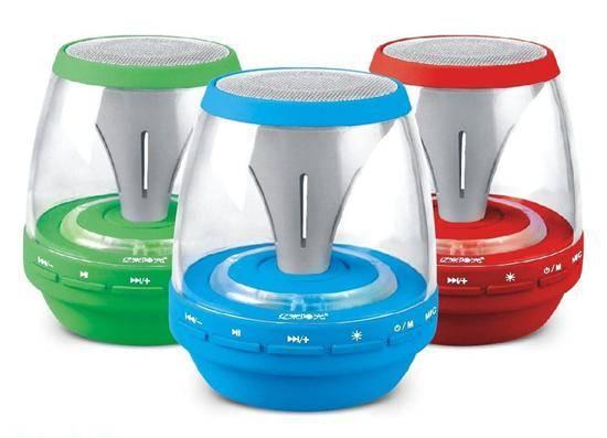 uniquie Bluetooth speaker as lamp design