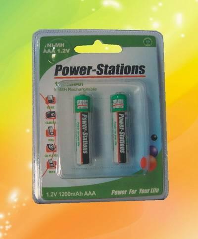 NH1200AAA rechargeable battery 1.2V 1200mAh