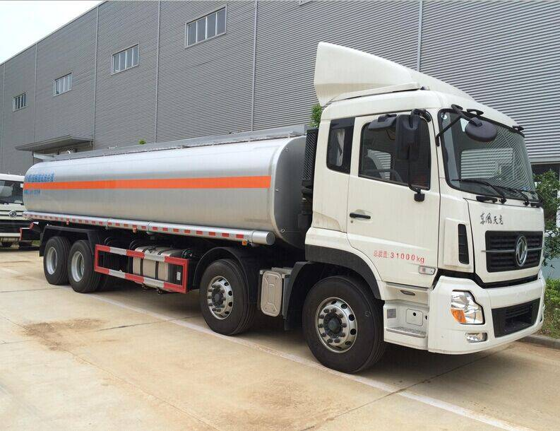 Aluminum tanker capacity in 42.4CBM