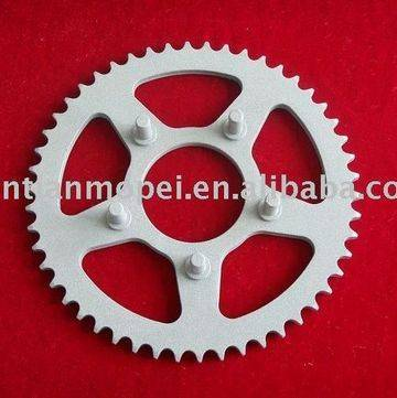 108-22 motorcycle sprocket and chain