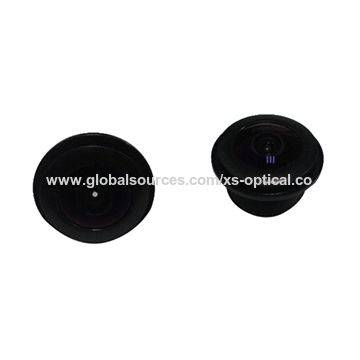 XS-6026-12 190 degree Megapixel Fisheye Lens with Image height 4.8mm