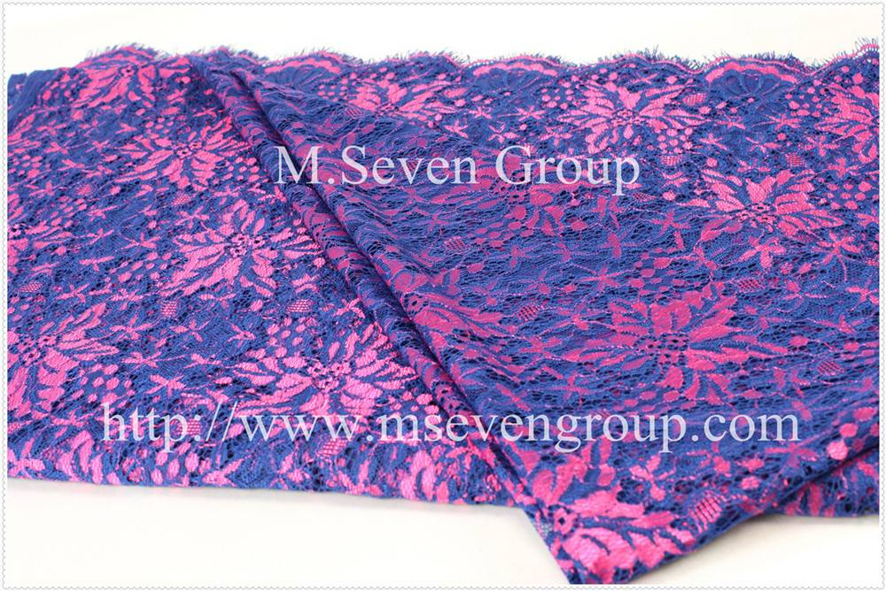 Elastic Nylon Lace Fabric