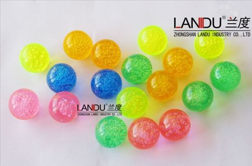 High quality colorful acrylic round bubble balls