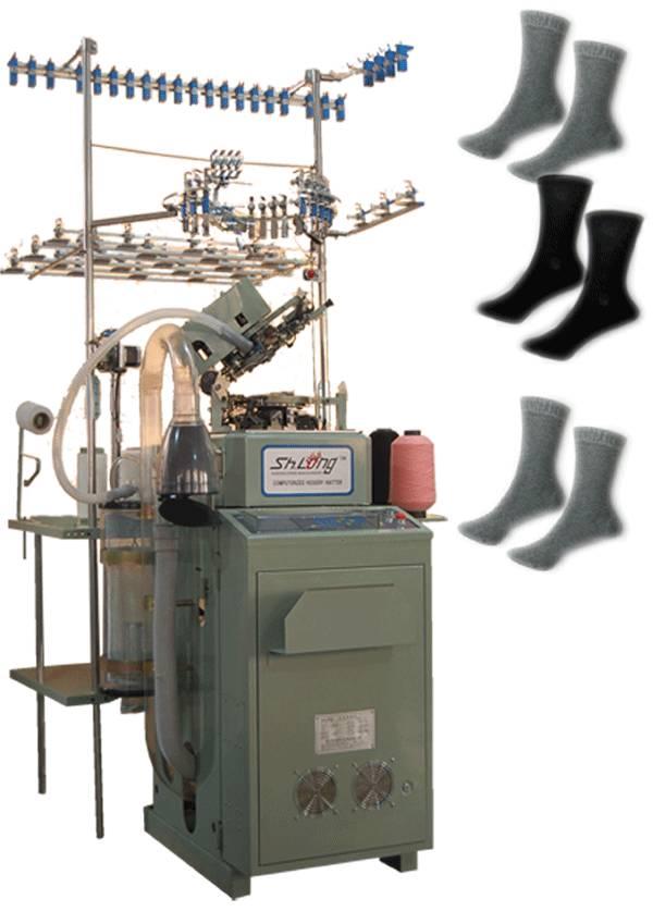 6f fully computerized socks knitting machine