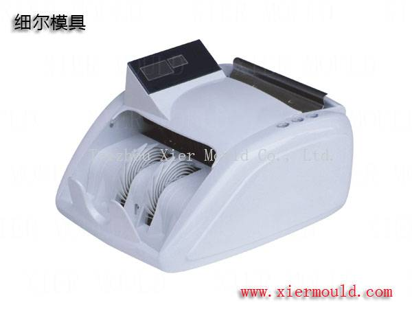 Plastic mould for currency counting machine