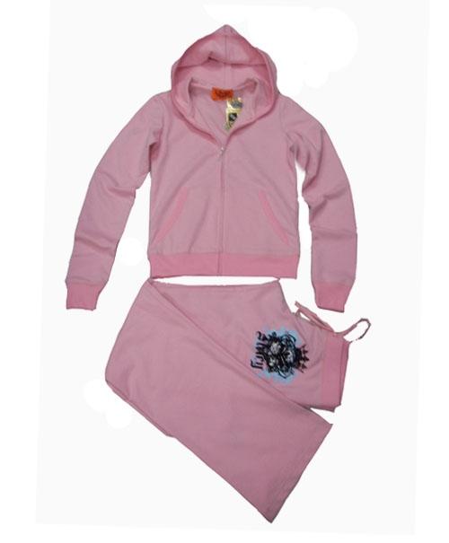 $21  Juicy Couture Paradise Fleece Hoodie Suit