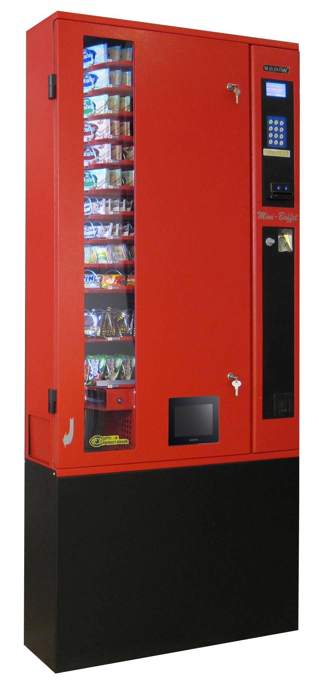 Slim Line Multipurpose Vending Machine