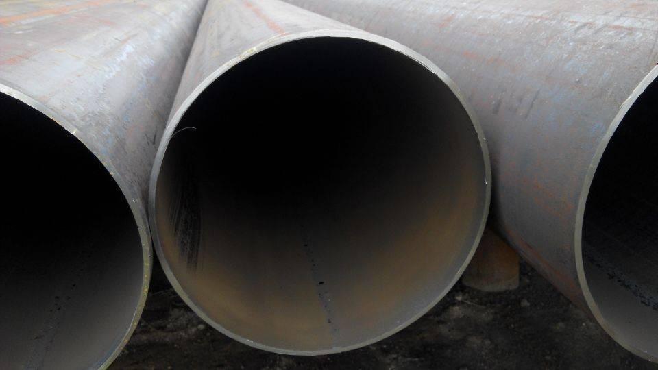 EN10210 S355 J0H SAW column steel pipe