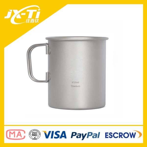 450ml titanium cup, tea cup