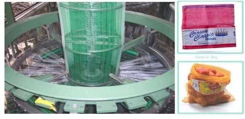 PP/PE leno mesh bag making machine price in China