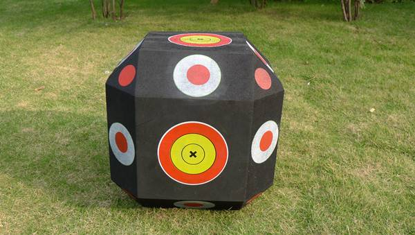 Silk printing Shooting archery target polyhedral