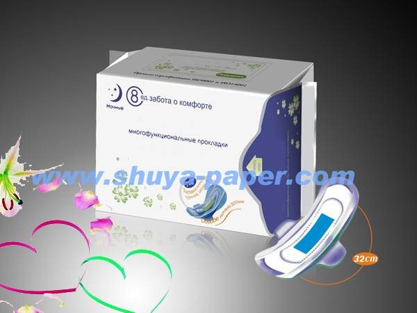OEM manufacturing anion sanitary napkin whole sold