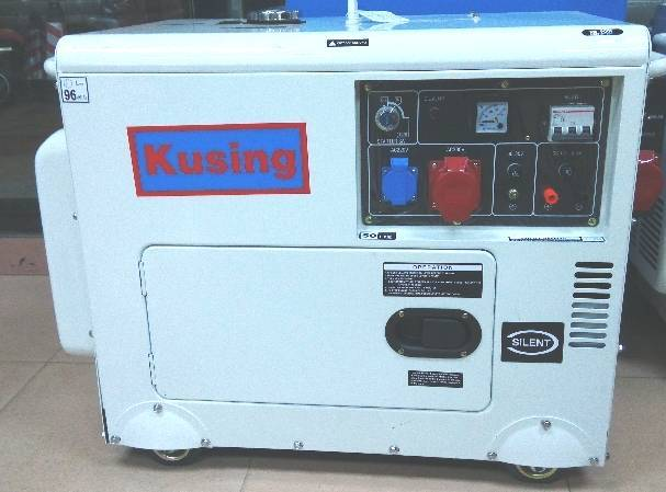 5KVA Diesel Silent Generator with Kusing Engine