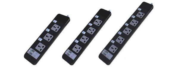 Extension Socket, Power Strip, Travel Adapter, Wall Socket and Switch