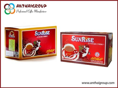 3in1 Instant coffe mix - Sunrise coffee