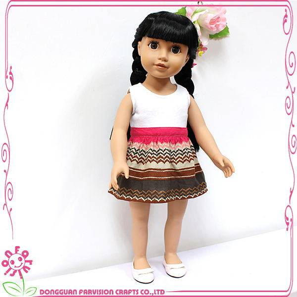 China made Silicone doll lovely baby girl doll,18 inch soft plastic doll