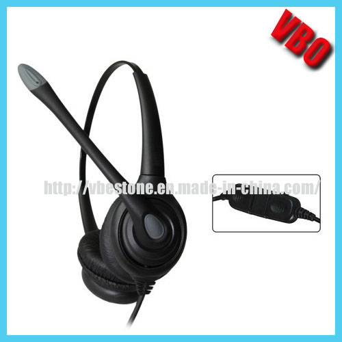 Noise Cancelling Headphone Telephone Headset for Call Center