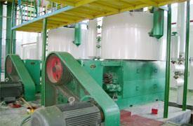 Peanut oil processing line