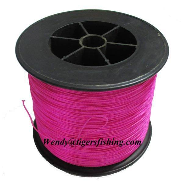 PE/Spectra Braided Fishing Line Pink High Quality Wholesale Supplier Factory