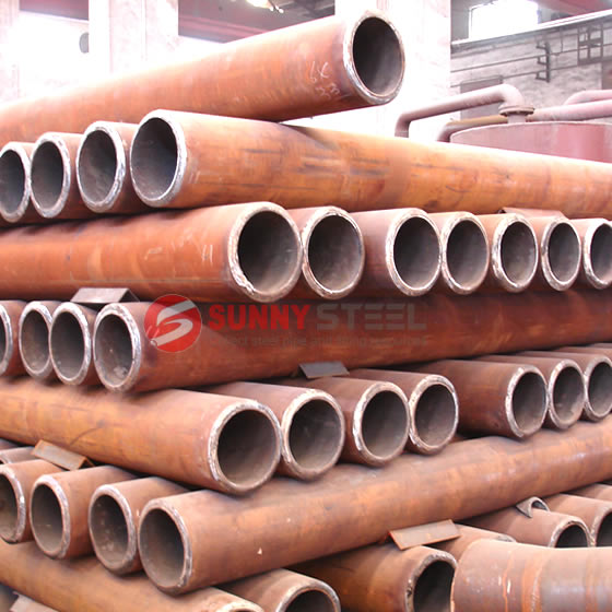 wear resistant lined pipe