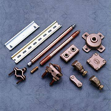 We Export Brass electrical and earthign accessories from India