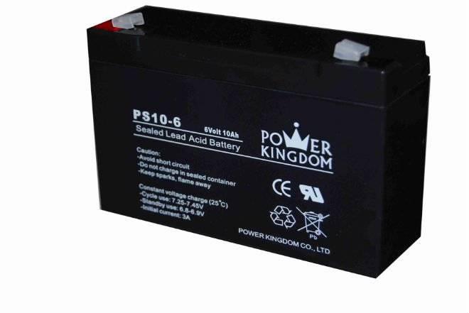 6V10ah lead acid batteries