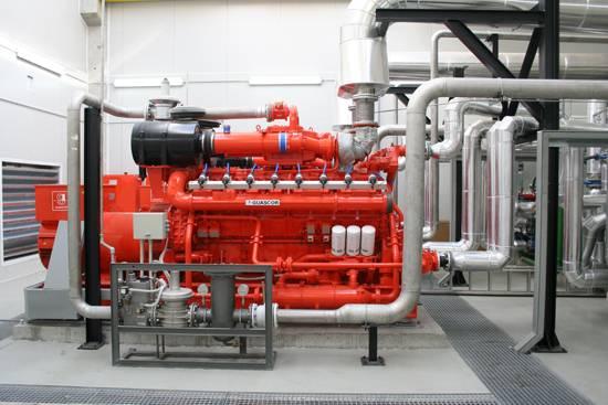 GUASCOR 264-957KW Gas gensets/Gas generator set