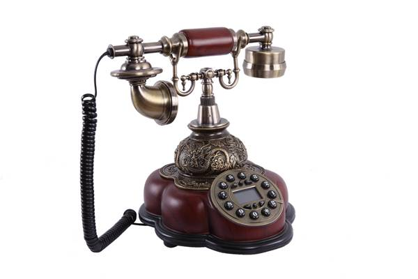 Home decor phone antique telephone resin+Green bronze phone MS-5200A