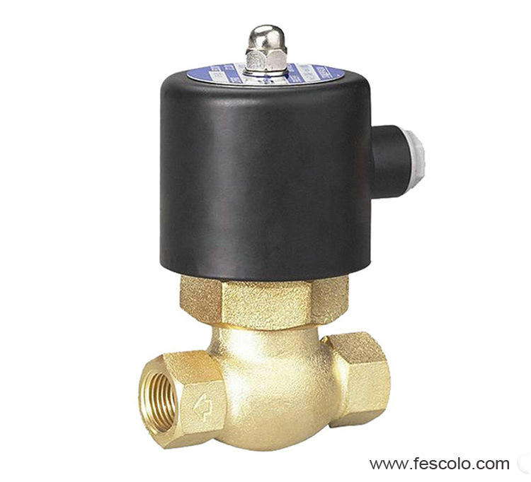 2L (US) Series Pilot Operated Steam Solenoid Valve