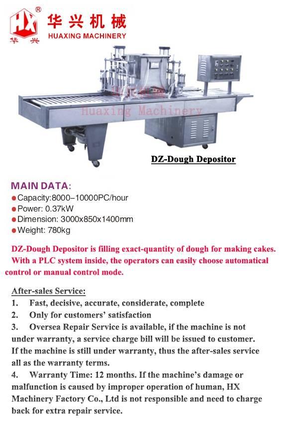 DZ-Dough Depositor